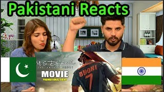 Pakistani Reacts To M.S.Dhoni - The Untold Story   Trailer   Sushant Singh Rajput   MS Dhon
