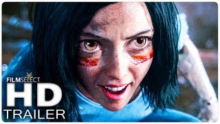 ALITA BATTLE ANGEL Trailer 2 Español (2018)