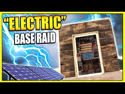 Rust ELECTRICITY RAID?! - M39 EMR + Raiding RICH BASES