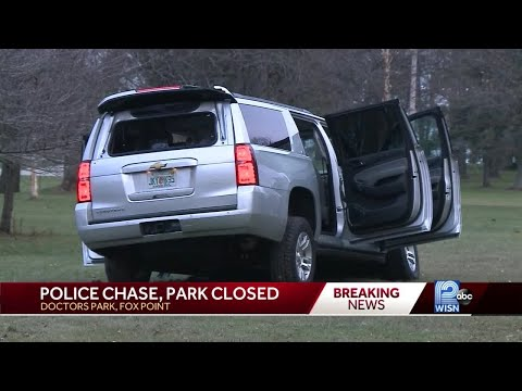 Police searching park for 3 robbery suspects
