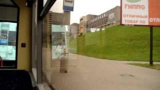 Minsk Минск поездка на троллейбусе Belarus