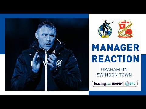 Match Reaction - Graham Coughlan - Swindon Town