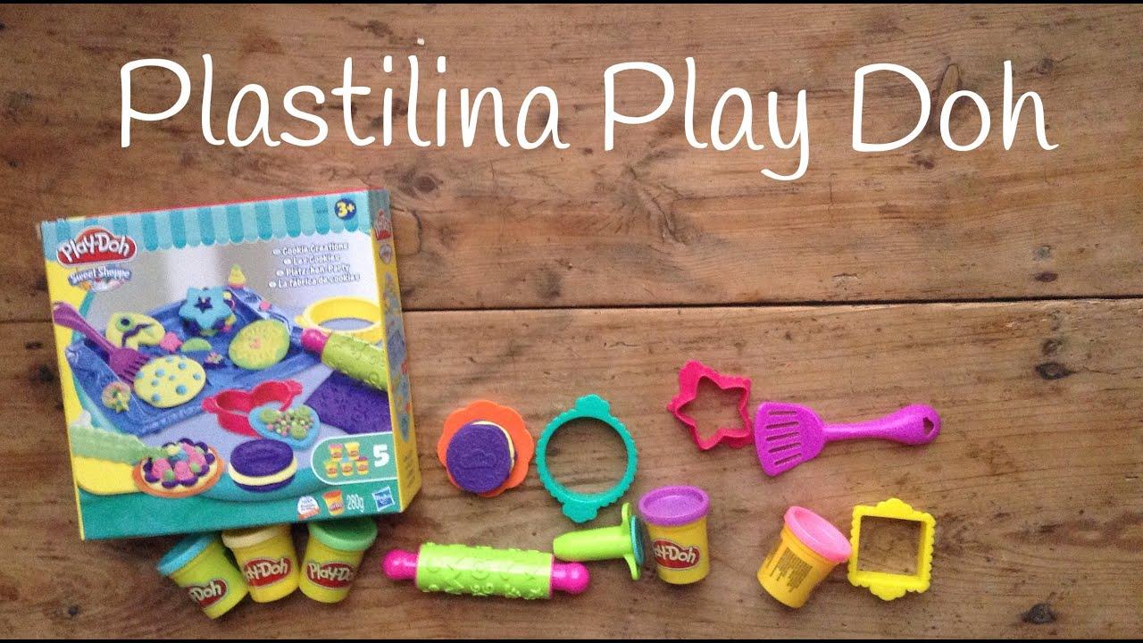 Play doh sweet shoppe en español: Cookies y Cupcakes de plastilina