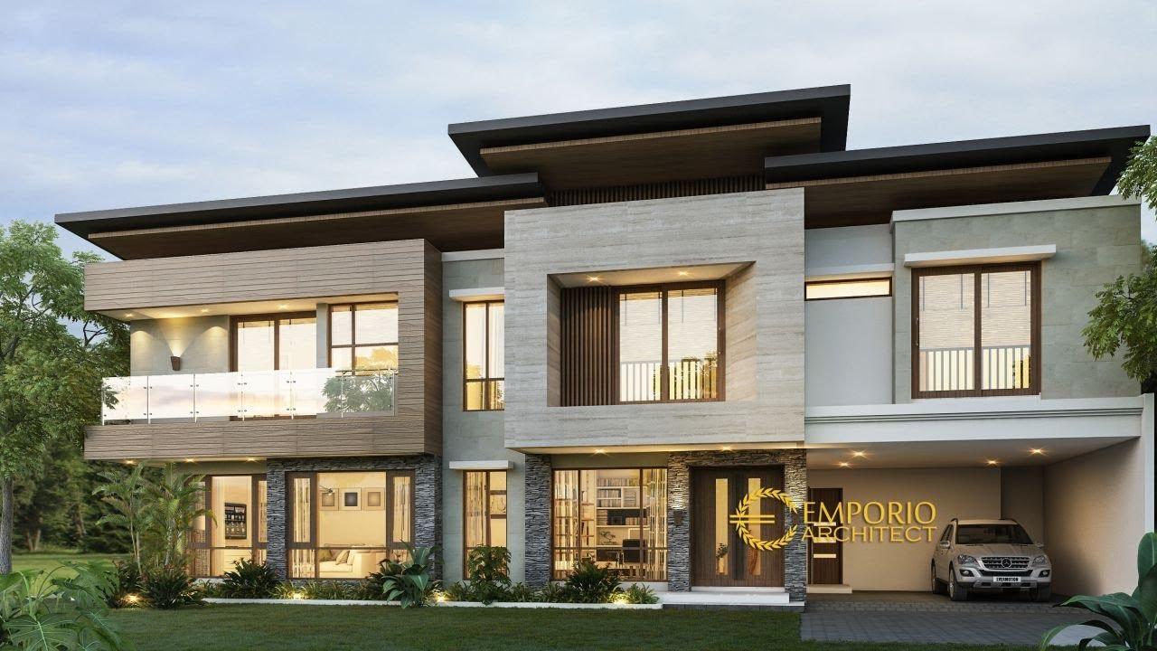Video 3D Desain Rumah Modern 2 Lantai Bapak Charly di Kupang