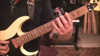 How to play Good Day To Die by Exodus on guitar by Mike Gross