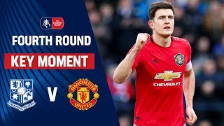 Maguire\'s STUNNING First Goal for United! | Tranmere vs Manchester United | Emirates FA Cup 2019/20