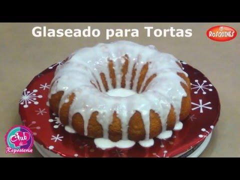Cómo Hacer un Glaseado para Tortas