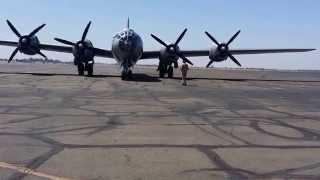 "B-29 Superfortress ""FIFI"" Startup Mather Air Force Base, Sacramento, CA"