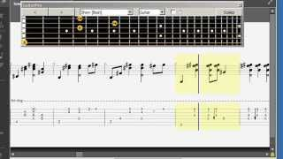 (2ne1) Lonely - Guitar tab tutorial - Sungha Jung