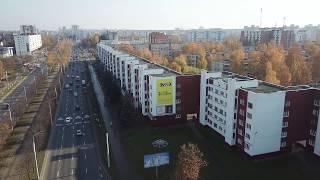 Реклама на фасадах - Витебск пр-т Московский 19