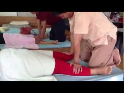 ออกกำลังกายในกระดูกของนิ้วเท้าใหญ่
