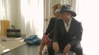 Behind The Scenes With Tim McGraw And Faith Hill