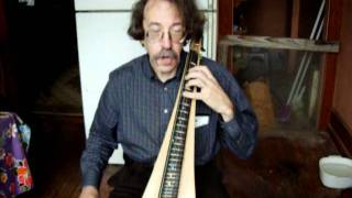 Double Bass Bowed Dulcimer by Ken Bloom