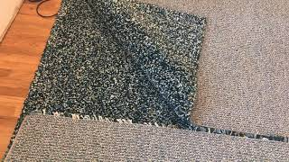 Joining together two IKEA rugs using seaming carpet tape (part 1)