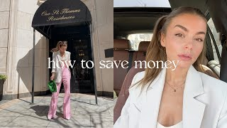 HOW TO SAVE MONEY | easy + practical tips