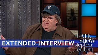 Extended Interview: Michael Moore Talks With Stephen Colbert