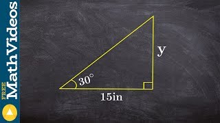 Find The Missing Length Using Special Right Triangles