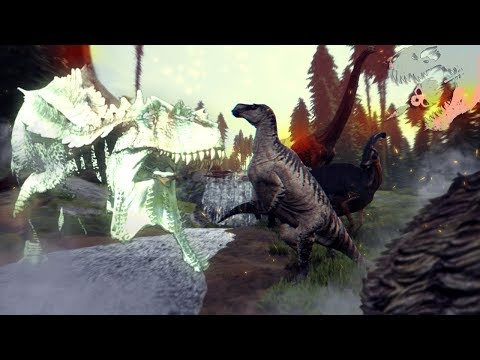 A PHANTOM HYPO GIGA IN OUR MIDST! - The Isle - Run And Don't Look Back!! - Isle Gameplay