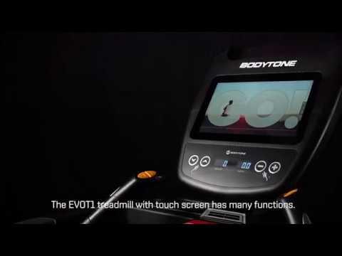 Tapis de Course Professionnel Evot1+ Bodytone