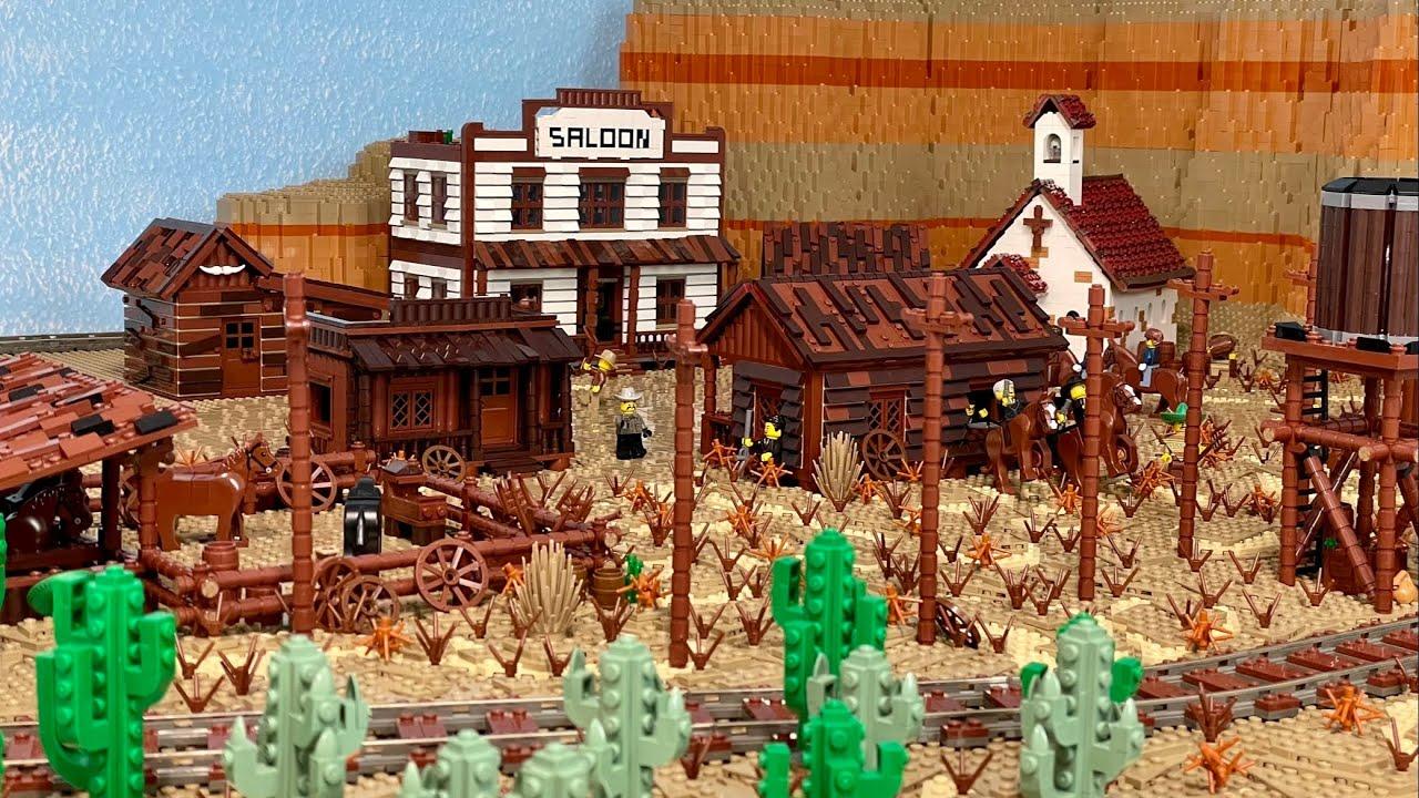 Lego Western Welt Teil 14. - Massiver Baufortschritt