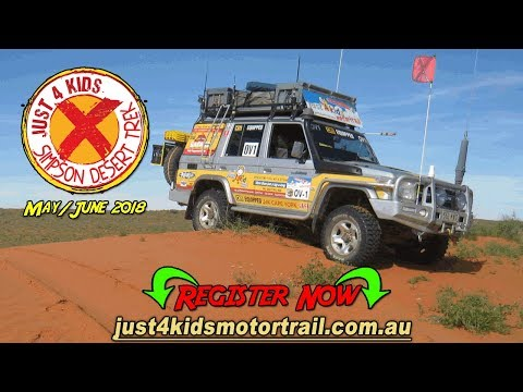 J4K Motor Trail Simpson Desert Trek Ad 002 Desert Crossing