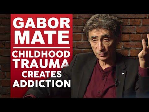 DR GABOR MATÉ - CHILDHOOD TRAUMA CREATES ADDICTION - Part 1/2 | London Real