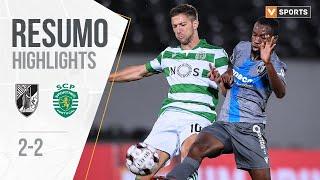 Highlights   Resumo: Vitória SC 2-2 Sporting (Liga 19/20 #25)