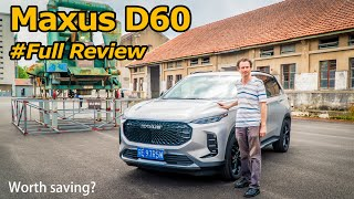 China Takes a Crack at Another British Brand: Maxus D60