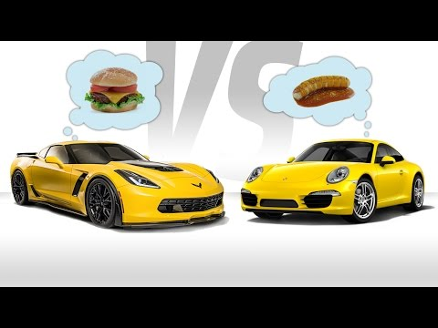 For $84K Get A Fully Loaded Corvette Or Base Porsche 911?