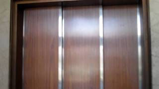 preview picture of video 'Fitchburg: =EPIC FAIL= Dead Otis Elevator With 3-Speed Doors, Sovereign Bank Building'