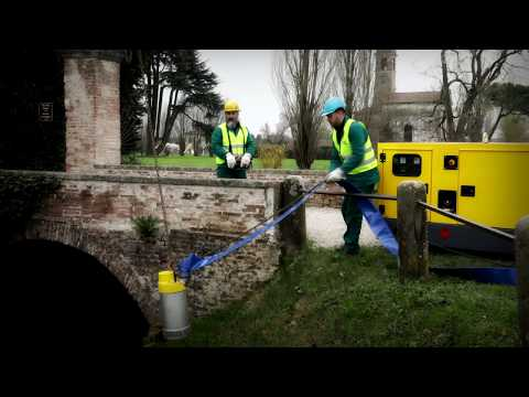 Electric Submersible Pumps, the portable water pumps for industry Atlas Copco - zdjęcie