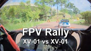 FPV Rally XV 01 vs XV 01 _ FPV race