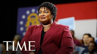 Stacey Abrams Responds To President Donald Trump's State Of The Union Address | TIME
