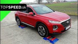 Hyundai SantaFe 4x4 test - TOPSPEED.sk