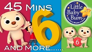 Number 6 Song | Plus Lots More Nursery Rhymes | 45 Minutes Compilation from Little Baby Bum!