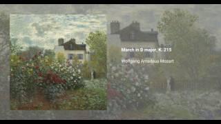 March in D major, K. 215