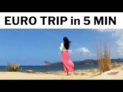 [EURO TRIP] Amsterdam – Hamburg – Ibiza in 5 minutes