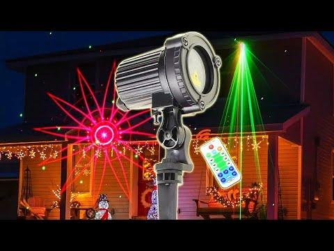 Лазерный R & G уличный проектор ESHINY / ESHINY Laser R&G Outdoor Projector