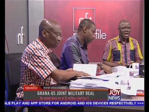 Ghana-US Joint Military Deal Part 1