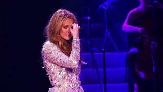 "Céline Dion's Emotional Breakdown While Performing ""All By Myself"""