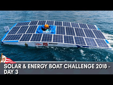 Solar & Energy Boat Challenge 2018 - Day 3