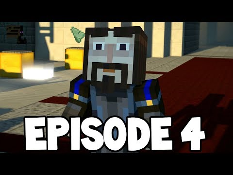 Minecraft Story Mode: Season 2 - EPISODE 4  - NINJA IVOR !?