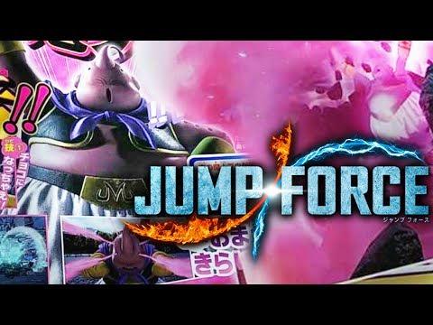 """""""MAJIN BUU JOINS THE FIGHT!"""" Majin Buu (Good) Gameplay Screenshots JUMP FORCE DLC!"""