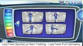 LazyTown Sportacus Hero Training - LazyTown Full Gameplay