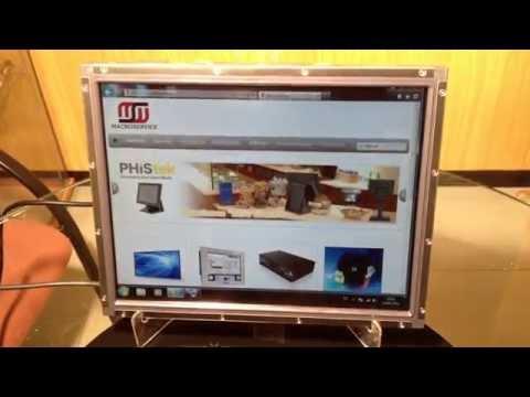 Monitor táctil ELO+Panel transflectivo SolView