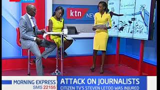 Police condemned for brutal attack on journalists