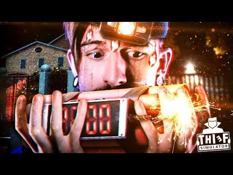 OK. THIS NEW NEIGHBORHOOD IS INSANE || Thief Simulator (Part 6) (видео)