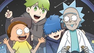 That Time We Met Rick and Morty | DanPlan Animated