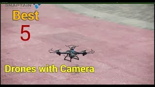 Best 5 Drones with Camera || Must watch ||