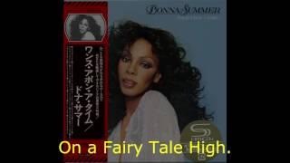 "Donna Summer - Fairy Tale High LYRICS - SHM ""Once Upon A Time"" 1977"